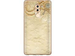 Чехол на Huawei Honor 6X Кружевной орнамент (2160t-460-22700)