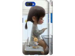 Чехол на Realme C2 Милая девочка с зайчиком (4039m-1852-22700)