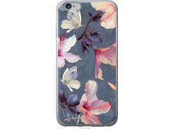 Чехол на iPhone 6s Plus Нарисованные цветы (2714u-91-22700)