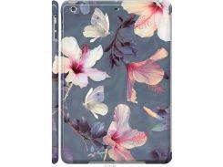 Чехол на iPad 5 (Air) Нарисованные цветы (2714c-26-22700)