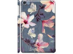 Чехол на iPad mini 2 (Retina) Нарисованные цветы (2714c-28-22700)