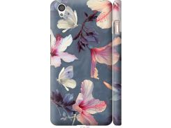 Чехол на OnePlus X Нарисованные цветы (2714c-385-22700)