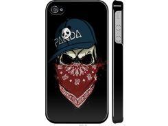 Чехол на iPhone 4s Череп в кепке (4127m-12-22700)