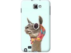 Чехол на Samsung Galaxy Note i9220 Модная лама (4479u-316-22700)