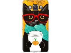 Чехол на Samsung Galaxy A5 A500H Осенний кот (4026u-73-22700)