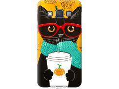 Чехол на Samsung Galaxy A3 A300H Осенний кот (4026t-72-22700)