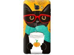Чехол на Samsung Galaxy C9 Pro Осенний кот (4026u-720-22700)