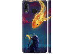 Чехол на Samsung Galaxy A20e A202F Кошкин сон (3017m-1709-22700)