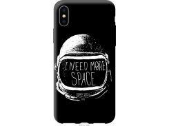 Чехол на iPhone X I need more space (2877t-1050-22700)