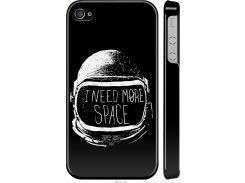 Чехол на iPhone 4 I need more space (2877m-15-22700)