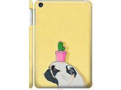 Чехол на iPad mini 3 Мопс с кактусом (4516m-54-22700)