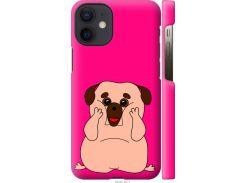 Чехол на iPhone 12 Mini Весёлый мопс (4908c-2071-22700)