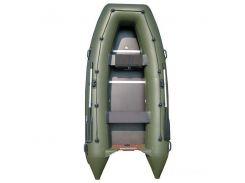 Надувная лодка Sportex Шельф 310К (зеленая)