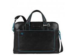 Портфель Piquadro BL SQUARE/Black двуручный с отдел. для ноутбука CA3335B2_N Черный