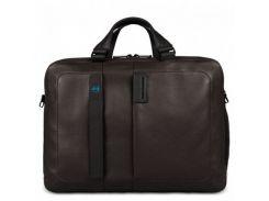 Портфель Piquadro двуручн. с отдел. для ноутбука 15,6/iPad Air/Air2 PULSE/Brown CA3347P15_M Коричневый