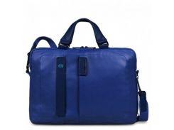 Портфель Piquadro дворучн. с отдел. для ноутбука/iPad/iPad Air/iPad mini PULSE/Blue CA1903P15_BLU Синий