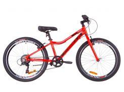 """Горный ; Подростковый Велосипед 24"""" Formula ACID 1.0 rigid 2019 (красно-черный с син"""