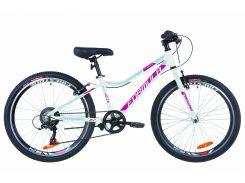 """Горный ; Подростковый Велосипед 24"""" Formula ACID 1.0 rigid 2019 (бело-малиновый с го"""