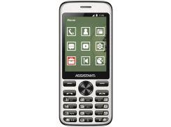 Мобильный телефон Assistant AS-204 Black