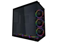 Корпус 1stPlayer SP8-G3 RGB LED без БП Black