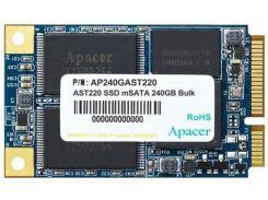 SSD накопитель Apacer AST220 240GB mSATA TLC (AP240GAST220-1) (6515957)