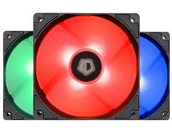 Кулер ID-Cooling XF-12025-RGB-TRIO, 120x120x25мм, 4-pin PWM (6573628)