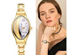 Модные роскошные женские часы-браслет