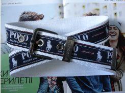 Мужской тканевый ремень Polo