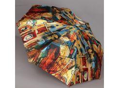 Зонт ZEST, полный автомат серия Сатин, расцветка Абстракция