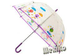 Прозрачный детский зонт Zest. Расцветка Птички