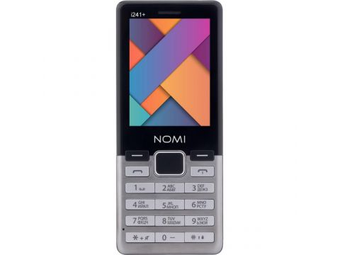 Nomi i241 Plus Dual Sim Metal Steel (4945117) Киев