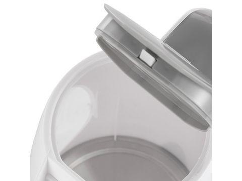 Электрочайник пластиковый Adler AD 1208 1.8 литр Белый (hub_YVbk61307)