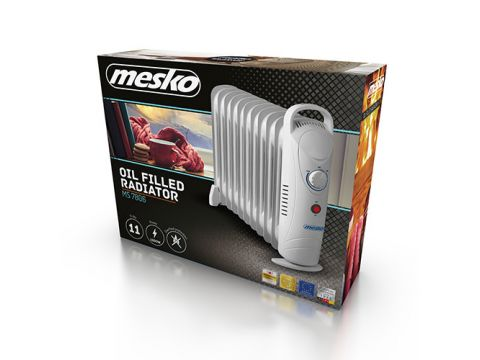 Обогреватель маслянный Mesko MS 7806 на 11 секций мощность 1200w (MS 7806)