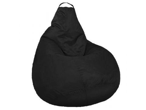 Кресло мешок SOFTLAND Груша XXL 130х100 см Черный (SFLD43)