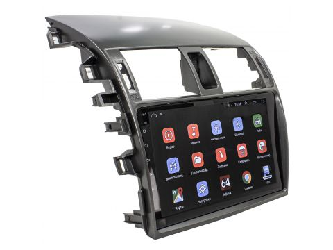 Штатная автомобильная магнитола для Toyota Corolla 9 (2009-2013) GPS 4G Wi Fi Android 8.1 Go