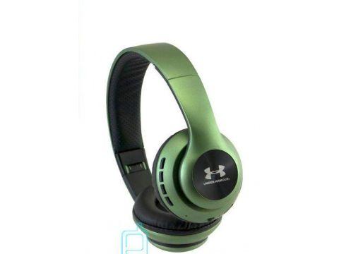 Накладные беспроводные Bluetooth наушники UA-67 Зеленые (220061)