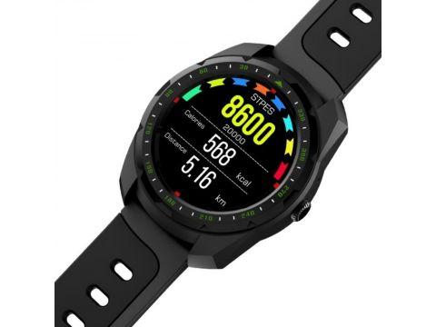 Умные часы King Wear KW01 с влагозащитой и пульсометром Черный (swkingwkw01bl)