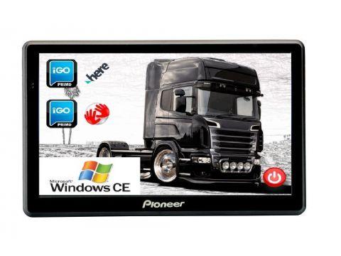 GPS навигатор Pioneer A75 ANDROID с картой Европы для грузовиков (pi_a75tir)