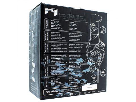 Наушники Onikuma K1 игровая гарнитура для компьютера Camo-Grey (00007292)