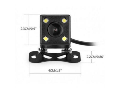 Камера заднего вида с подсветкой и динамической разметкой Noisy 101 Black (3sm_917384858)