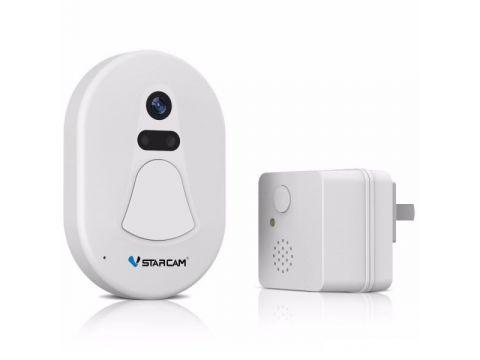 Дверной звонок с камерой VStarcam D1 передача фото на смартфон (100259)