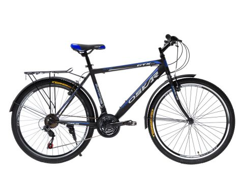 """Велосипед Oskar 26""""GTX Черно-синий (26-1527-bl)"""