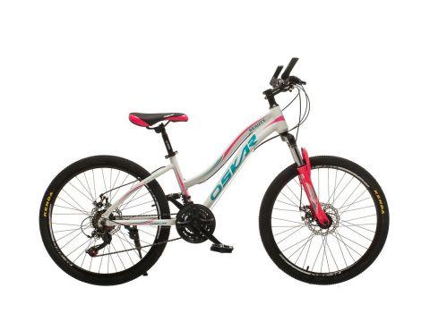 "Велосипед Oskar 24""BEAUTY Белый (24-k405-wt)"