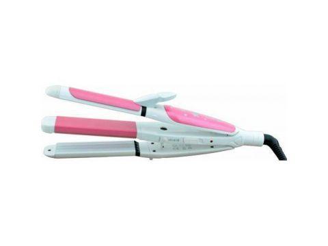 Утюжок для укладки волос Gemei GM 1960 3 в 1 (sp_3465)