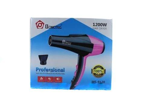 Профессиональный фен Domotec MS-9120 Черный с розовым (sp_3065)
