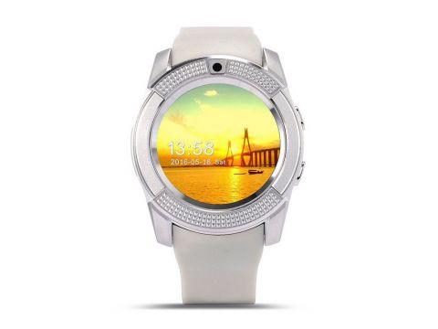 Умные часы Smart Watch V8 White (SWV8W)