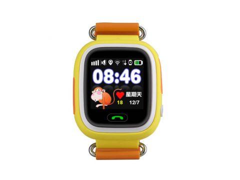 Детские умные GPS часы Q90 Yellow (SBWQ90Y)
