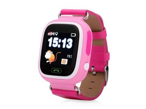 Детские умные GPS часы Q90 Pink (SBWQ90P)