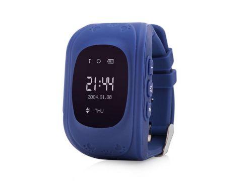 Детские умные GPS часы Q50 Dark Blue (SBWQ50DB)