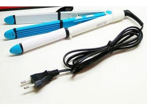 Утюжок-выпрямитель для укладки волос 3-в-1 Gemei GM 2921 (55500992)